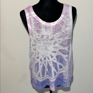 Soul cycle burnout pastel muscle purple pastel